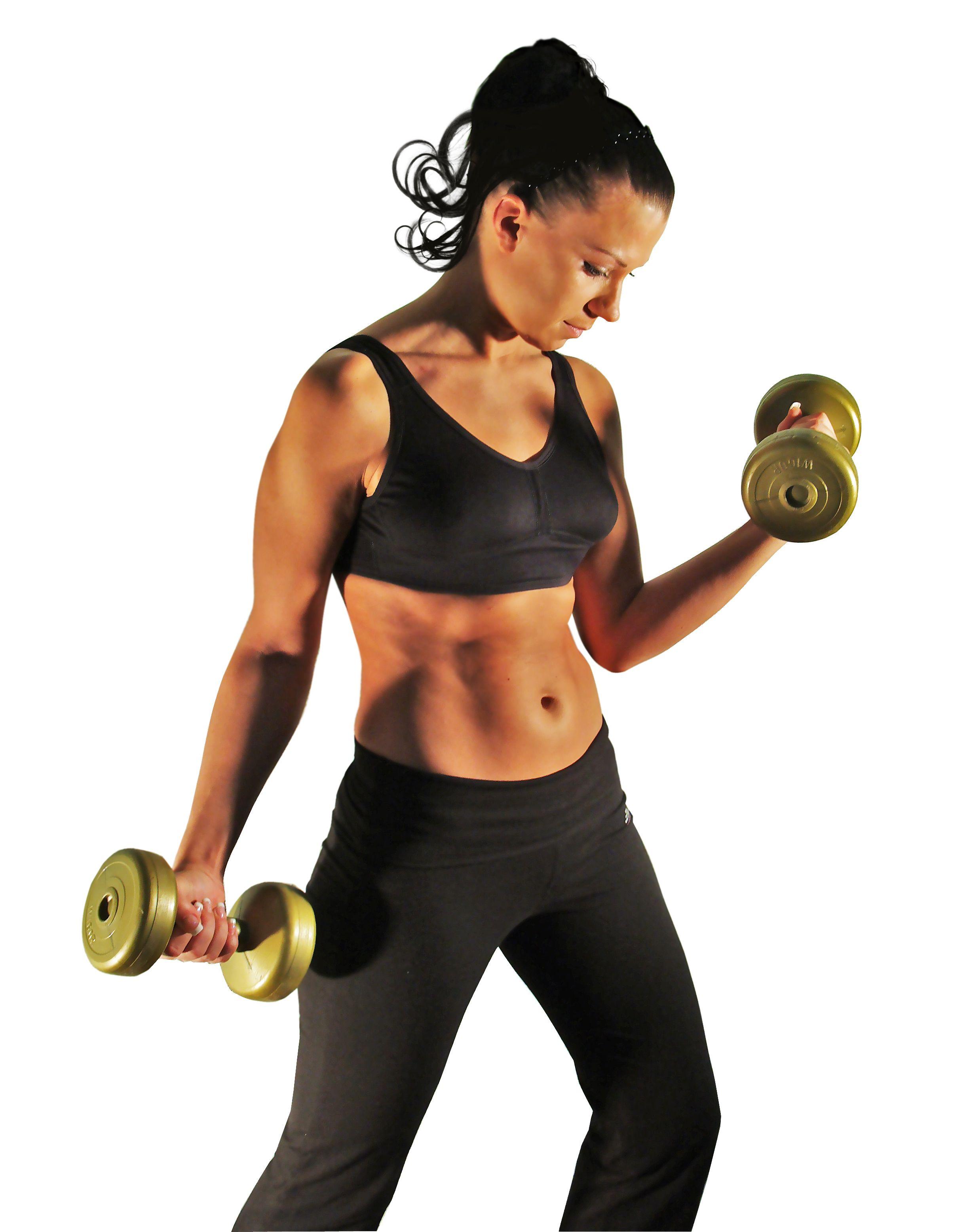 Sollevamento pesi per donne che vogliono dimagrire